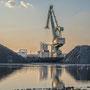 """tOG-M.S.044 - """"Duisburg Pyramids"""" - Hafen Ruhrgebiet NRW Germany - Cycle/ @work- 2015 - Edition 2/ 70 x 105 cm, Echtfotoabzug Alu-Dibond mit UV-Laminierung - Courtesy tOG-Düsseldorf (c) M. Sander"""