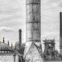 """tOG-M.S.045 - """"Revierschönheit"""" - Merkez Moschee, Duisburg Ruhrgebiet NRW Germany - Cycle/ @work- 2012 - Edition 1/ 90 x 134,1 cm, Echtfotoabzug Alu-Dibond mit UV-Laminierung - Courtesy tOG-Düsseldorf (c) M. Sander"""
