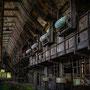"tOG-M.S.013 - ""Gebunkert I"" - Ruhrgebiet Steel Industry - NRW Germany - Cycle/ worked-OUT - 2012 - Edition 2/ 80 x 120 cm, Echtfotoabzug Alu-Dibond mit UV-Laminierung - Courtesy tOG-Düsseldorf (c) M. Sander"