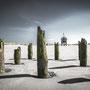 "tOG-M.S.005 - ""Durchblick Terschelling-Strandholz"" - Netherland - Cycle/ Touched Landscapes - 2014 - Edition 2/ 75 x 120 cm, Echtfotoabzug Alu-Dibond mit UV-Laminierung - Courtesy tOG-Düsseldorf (c) M. Sander"