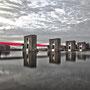 """tOG-M.S.042 - """"Ruhrenergie"""" - Wasserkraftwerk Ruhrgebiet NRW Germany - Cycle/ @work- 2011 - Edition 2/ 60 x 90 cm, Echtfotoabzug Alu-Dibond mit UV-Laminierung - Courtesy tOG-Düsseldorf (c) M. Sander"""