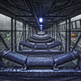 "tOG-M.S.063 - ""Deep Blue"" - Coal Industry Ruhrgebiet NRW Germany - Cycle/ worked-OUT - 2014 - Edition 2/ 93,8 x 100 cm, Echtfotoabzug Alu-Dibond mit UV-Laminierung - Courtesy tOG-Düsseldorf (c) M. Sander"
