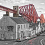 "tOG-M.S.003 - ""Forth-Bridge Neighbourhood"" - Scotland - Cycle/ @work - Bridged - 2013 - Edition 2/ 77,9 x 120 cm, Echtfotoabzug Alu-Dibond mit UV-Laminierung - Courtesy tOG-Düsseldorf (c) M. Sander"