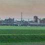 """tOG-M.S.048 - """"r(h(ein Chemie"""" - Ruhrgebiet Germany - Cycle/ @work- 2015 - Edition 1/ 31,6 x 180 cm, Echtfotoabzug Alu-Dibond mit UV-Laminierung - Courtesy tOG-Düsseldorf (c) M. Sander"""