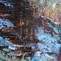 """Fischland Darß - """"Moorwasser"""" - Acryl auf Malpappe gespachtelt, 24 x 18, 2015"""