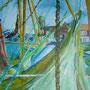 """""""Carolinensiel"""" - Acryl auf Leinwand, 70 x 50, 2006"""
