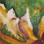 """Roussillon Farbfelsen III"" - Acryl auf Leinwand, 40 x 50, 2007"