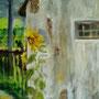 """Polen - Vergangenheit I"" - Acryl auf Leinwand, 40 x 50, 2006"