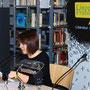 Als Zweite liest Sara Halbmayr.
