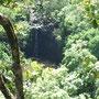 「ハナへの道 その4」 ハナまでの途中にはいくつも滝があります。