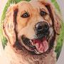 Unieke-handbeschilderde-dierenurnen-Gepersonaliseerde-urn-met-portret-hond-Golden-Retriever-detailaanzicht-Unieke-handbeschilderde-urnen-Bijzondere-urnen-Maatwerk-Urn-voor-dieren-Handgemaakte-Urnen-Urn-laten-maken-Urn-laten-beschilderen-Hondenurn-Urn-Hond