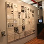 Barbara Rosenthal, Homo Futurus Wall Work, 1986, Editon 1 of 3. 41 Electrostatic Prints dry mounted and framed in Plexiglas.