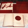 "Jessica Lagunas, Historias Intimas (Intimate Stories), 2009-2010. Handmade book and letters printed digitally, 101 pages, 8 1/2"" x 11""."