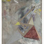 """Christopher K. Ho, Untitled no. 9, 2010. Acrylic, oil, wax, and graphite on linen, 12"""" x 16""""."""