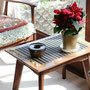 現在は廃盤柄の芹沢銈介氏意匠のテーブルセンター