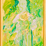 女神様22 Goddess 22, 2009 48 x 30 cm Acrylic on canvas
