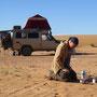 Kaffeewasser morgens mit der Petromax Feuerkanne fk1