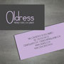 business card - lilac version