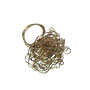 ring - silvered copper wire