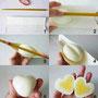 Hartes Ei in Herzform - Internet