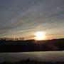Feb. 2014, Sonnenuntergang an der Niers Bild: jkHengsten