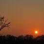 März 2012, Sonnenuntergang, Bild: Hengsten