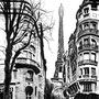 Paris | 59 x 42 cm | Eur 300