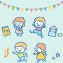 児童サービスパンフレット 挿絵