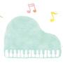 ピアノ教室名刺 挿絵