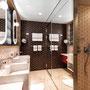Himmel & Meer Suite Badezimmer | © TUI Cruises