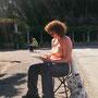 Trieste Plein Air:  Chiara dipinge e dipinge