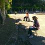 Trieste Plein Air: tutti in piena azione creativa