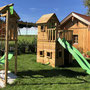 Kinderspielgeräteanlage: Fatmoose Crazy Cat XXL + Tower Swing