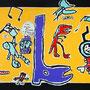 Muurschildering - BS 't Spoor