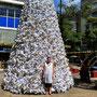 Und vor jedem Christbaum gehört eine schöne Frau!