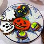 Halloween Cookies gehören noch aufgegessen