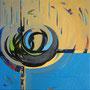 """""""Die verborgene Harmonie"""", 2010, 50 x 50 cm, Öl auf Leinwand"""