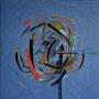 """""""Leichtes Denken"""", 2010, 80 x 80 cm, Öl auf Leinwand"""