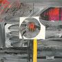 O.T, 2009, 40 cm x 30 cm, Collage, Aquarellfarbe, Papier