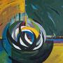 """TransForma"",2010, 90 cm x 70 cm, Öl auf Leinwand"