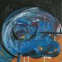 """Blaue Stunde"", 2010, 50 x 50 cm, Öl auf Leinwand"