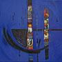 """""""Aus der Stille"""", 2010, 50 x 50 cm, Öl auf Leinwand"""