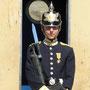Wache beim Königspalast