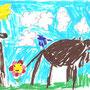 découverte de l'âne pour les enfants