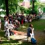 Sommervernissagen in der Mohr-Villa, 6. Juli 2014