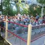 """""""Die Kinder des Olymp"""" des Metropoltheaters im Garten der Mohr-Villa, 10.Juli bis 16.August 2014"""