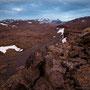 On Bræðraklif, looking towards the Herðubreiðarfjöll and the Gjáfjöll to the right.
