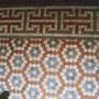 床モザイクタイル