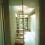 階段 wood+steel