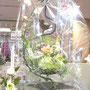 伊勢丹浦和店手作り作品展プリザーブドフラワーで出展しました。